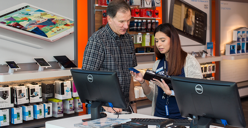 InVue- CT300- Store Associate tablet pos system