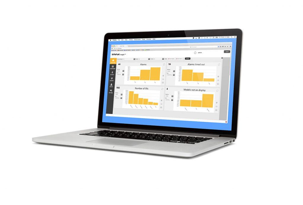 适用于零售商的 InVue 软件分析
