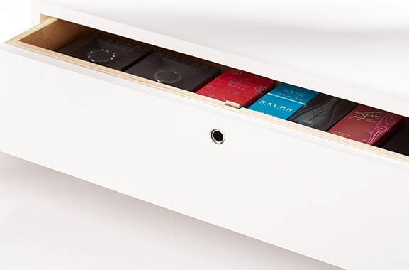Invue smart lock anti-theft security drawers