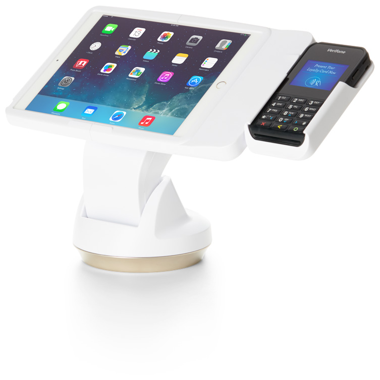 Invue ct300-white mobile tablet point of sale device