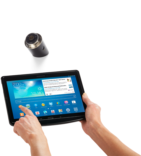 Invue ct100 tablet security mount system