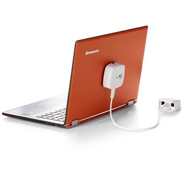 Schutz für ausgestellte Laptops