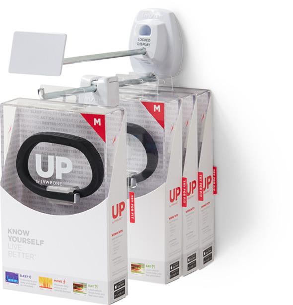 Invue ir-flexible-locking-hook to secure your merchandise
