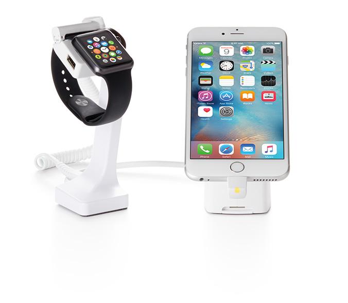 Invue schützt Apple Watches und iPhones vor Ladendiebstahl