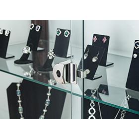 Invue l410 locking doors for retail display
