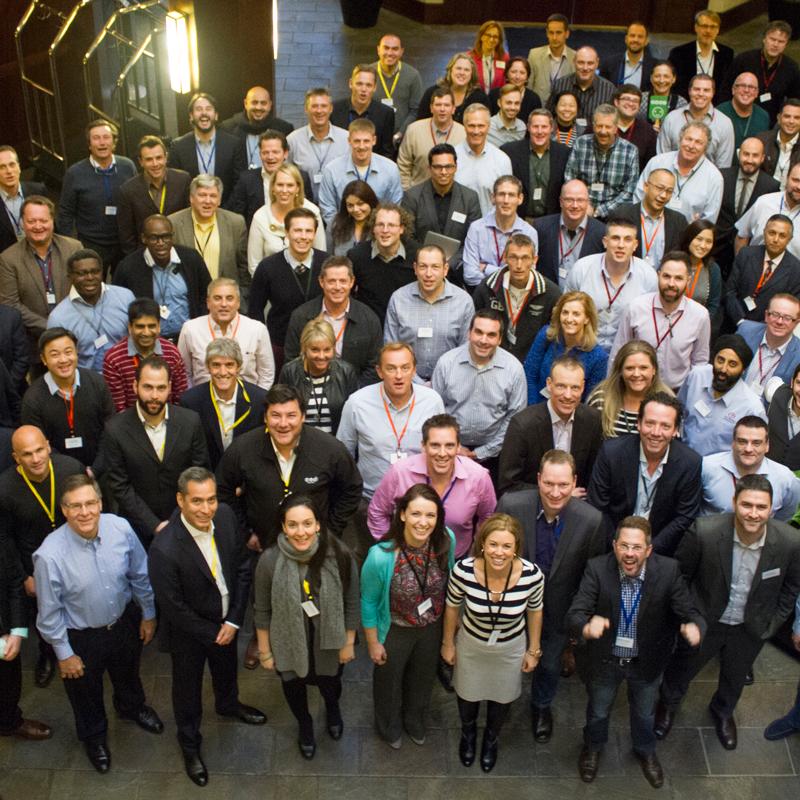 InVue グローバル セールス会議は 2015 年の成功への鍵です
