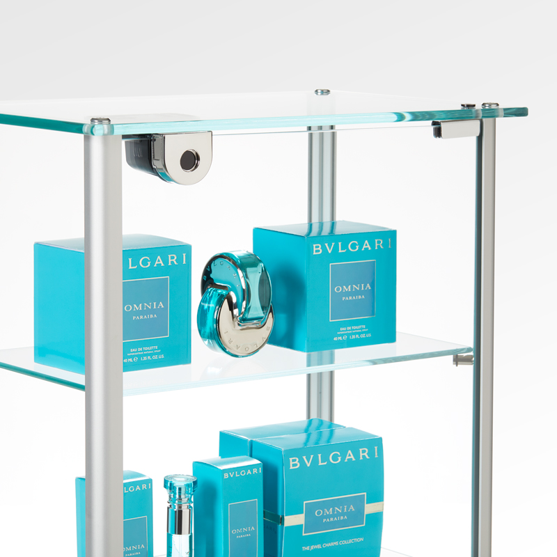 Invue Locking Display Glass Doors for Retail Merchandise