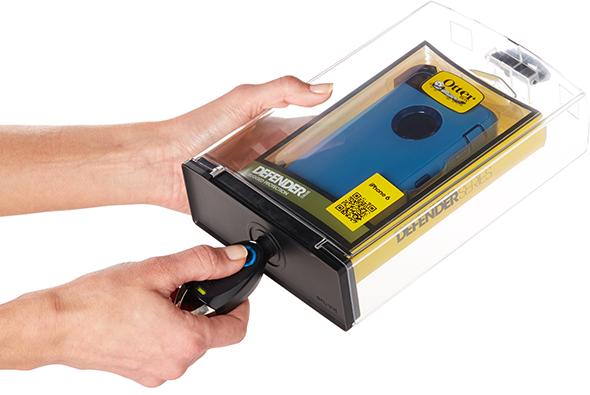 IR Safer Box が盗難率の高い商品を保護します