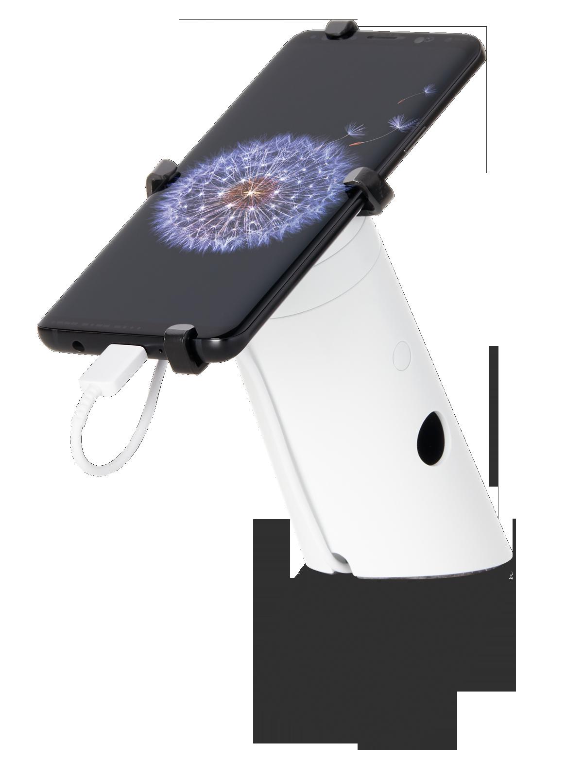 seguridad-minorista-para-teléfonos-en-exposición-one90QR